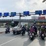 Điều chỉnh giao thông khu vực hầm sông Sài Gòn