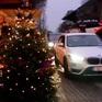 Đi chợ Giáng sinh trên ô tô tại Đức