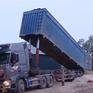 Tinh vi thủ đoạn độ chế container để chở cát lậu