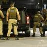 Hàng chục đối tượng cho nổ két sắt, cướp tiền ngân hàng ở Brazil