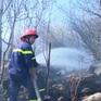 Bà Rịa - Vũng Tàu: Cháy rừng trên núi Minh Đạm
