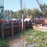 Tiền Giang hợp long đập thép ngăn mặn, trữ ngọt trên kênh Nguyễn Tấn Thành