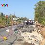 Kiểm tra tình hình sụt lún tại Cà Mau