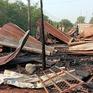 Cháy xưởng gỗ ở Bình Phước, 1 người tử vong