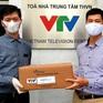 Hàng nghìn chai gel rửa tay khô Sanaryl bảo vệ cán bộ, nhân viên VTV khỏi COVID-19