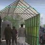 Lắp gian khử khuẩn ở chợ tại Pakistan
