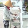 """Máy """"ATM gạo"""" miễn phí trong mùa dịch COVID-19"""