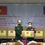 Trao tặng thiết bị y tế chống dịch COVID-19 cho Lào