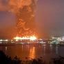 Cháy lớn tại bến tàu ở San Francisco, Mỹ