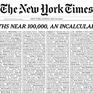 """Ý nghĩa đặc biệt của trang nhất 1000 cáo phó """"gây choáng"""" trên  New York Times"""