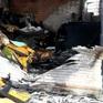 Giải cứu 5 người mắc kẹt trong đám cháy tại TP.HCM
