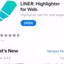 Liner - Ứng dụng đánh dấu ngay trên trình duyệt web