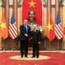 Chủ tịch Nguyễn Phú Trọng, Tổng thống Donald Trump chúc mừng 25 năm quan hệ Việt - Mỹ