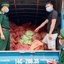 1,5 tấn chân gà sơ chế tại Việt Nam, dán bao bì Trung Quốc để xuất lậu
