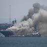 Cháy nổ trên tàu chiến Mỹ, 21 người bị thương