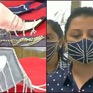 Khẩu trang đính kim cương - Mặt hàng được săn đón tại Ấn Độ