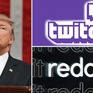 """Tổng thống Donald Trump bị Twitch và Reddit """"cấm cửa"""""""