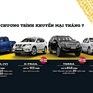 Chương trình ưu đãi dành cho khách hàng mua xe Nissan trong tháng 7/2020
