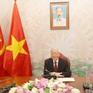 Tổng Bí thư, Chủ tịch nước cảm ơn Campuchia đã phối hợp chặt chẽ chống COVID-19