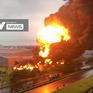 """Cháy lớn, Công ty JAANH Vina chìm trong """"biển lửa"""""""