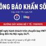 KHẨN: Tìm hành khách chuyến bay VN7198 từ Đà Nẵng đến Hà Nội ngày 24/7