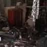 Cháy dãy nhà trọ lúc đêm khuya, nhiều gia đình mất trắng tài sản