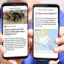 Thông tin kịp thời cho người dân các tỉnh khu vực tâm bão số 5 qua Zalo