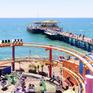 """Cầu cảng Santa Monica, Mỹ """"hồi sinh"""" sau hơn 6 tháng đóng cửa do dịch COVID-19"""