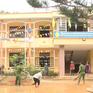 Công an, biên phòng giúp trường học khắc phục hậu quả mưa lũ