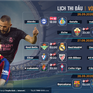 Barcelona – Villarreal và nhiều trận cầu hấp dẫn trên VTVcab cuối tuần