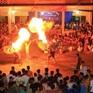 Ngôi làng từ trẻ đến già đều biết múa sư tử, thổi lửa