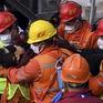 Cứu hộ thành công 11 công nhân đầu tiên trong vụ sập mỏ vàng ở Trung Quốc cách đây 2 tuần