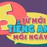 """""""5 từ mới tiếng Anh mỗi ngày"""" lên sóng VTV7"""