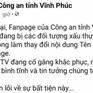 Đã nhận diện hacker tấn công Fanpage của Công an tỉnh Vĩnh Phúc
