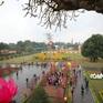 Hoàng Thành Thăng Long thả cá chép, dựng cây nêu đón Xuân Tân Sửu 2021