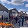 Đi chợ phiên ở một vùng nông thôn nước Mỹ
