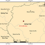 Hai trận động đất xảy ra liên tiếp ở Quảng Ngãi