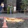 Nam thanh niên rơi từ tầng cao chung cư ở Hà Nội xuống đất tử vong
