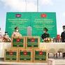 Bộ đội Biên phòng Việt Nam hỗ trợ 350.000 khẩu trang cho Lào và Campuchia