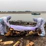 Ấn Độ điều tra vụ 100 thi thể trôi dạt vào bờ sông Hằng