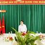 Động viên cán bộ, chiến sĩ Đồn Biên phòng Phước Tân, Tây Ninh