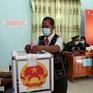 Cử tri 6 xã huyện Nam Giang (Quảng Nam) phấn khởi đi bỏ phiếu trong ngày bầu cử sớm