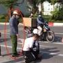Kỷ luật đại úy công an đứng nhìn tài xế taxi vật lộn với cướp