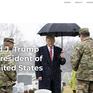 """Cựu Tổng thống Trump """"trình làng"""" website chính thức của riêng mình"""