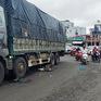 Xe tải va chạm với xe máy, một học sinh lớp 12 tử vong