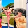 Diễn viên Việt tuần qua: Hồng Đăng khoe tóc xoăn tít, Hồng Diễm lộ vai trần cực xinh