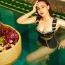 """Tự nhận là """"giò bò"""", Phương Oanh vẫn tự tin khoe ảnh bikini"""