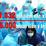 1.032 đội tiêm sẵn sàng cho chiến dịch tiêm vaccine COVID-19 lớn nhất