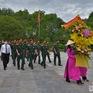 Bộ Tư lệnh Quân khu 4 dâng hương tại khu di tích Kim Liên