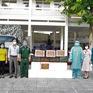 Những chuyến thực phẩm hỗ trợ nhân dân khu vực phong tỏa của Vùng 2 Hải quân
